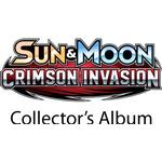 FÖRKÖP: Pokémon, SM Crimson Invasion, Collector's album (Mini-pärm + 1 booster) (Prel. release 3:e nov 2017)