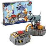 Giro Phineas And Ferb-Set Electricity Robo Dog