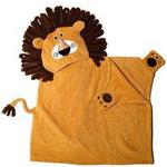 Zoocchini Kids Hooded Towel Leo the Lion