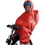 Hamax Rain Poncho, regnskydd för barnstol Röd oneSize