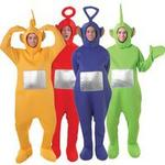 Fancy Dress - Teletubbies Group Costumes