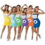 Fancy Dress - Group Portable Media Player Costume Combination