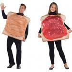 amscan Erdnussbutter- und Marmeladenbrot Duo-Kostüm