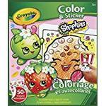 Vivid Imaginations Shopkins Colour and Sticker Book (Multi-Colour)