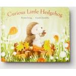 The White Company Curious Little Hedgehog Book by Kirsten Irving