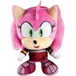 Tomy Sonic - Amy Big Headz Plush - 15 cm