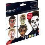Smiffys Halloween Aqua Face & Body Paint Kit