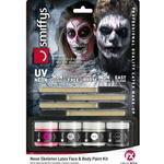 Smiffys Neon Skeleton Liquid Latex Kit