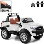 Rull Elbil - Ford Ranger Fyrhjulsdrift - Vit Deluxe