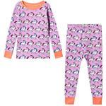 Barnkläder Hatley Rainbow Unicorns Pajama Set - Purple (S19RBK204O)