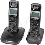2 - Trådlös Fast Telefoni Panasonic KX-TG2512 Twin