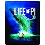 Blu-ray 3D Blu-ray 3D Life Of Pi - Limited Edition Steelbook (Blu-ray 3d + Blu-ray (3D Blu-Ray)