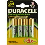 """Duracell """"Duracell StayCharged AA 4 Pack"""
