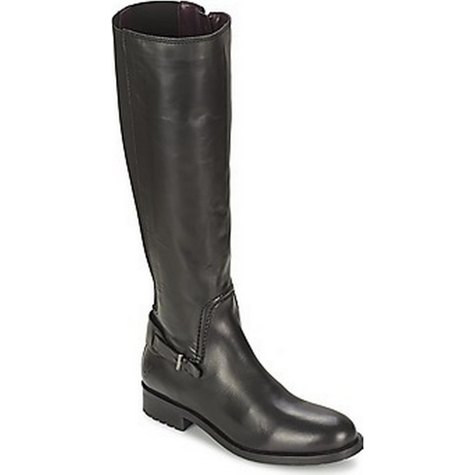 spartoo.co.uk marc o & #  27; polo # carwinley femmes & # polo  27; s des bottes hautes en noir 496aa6