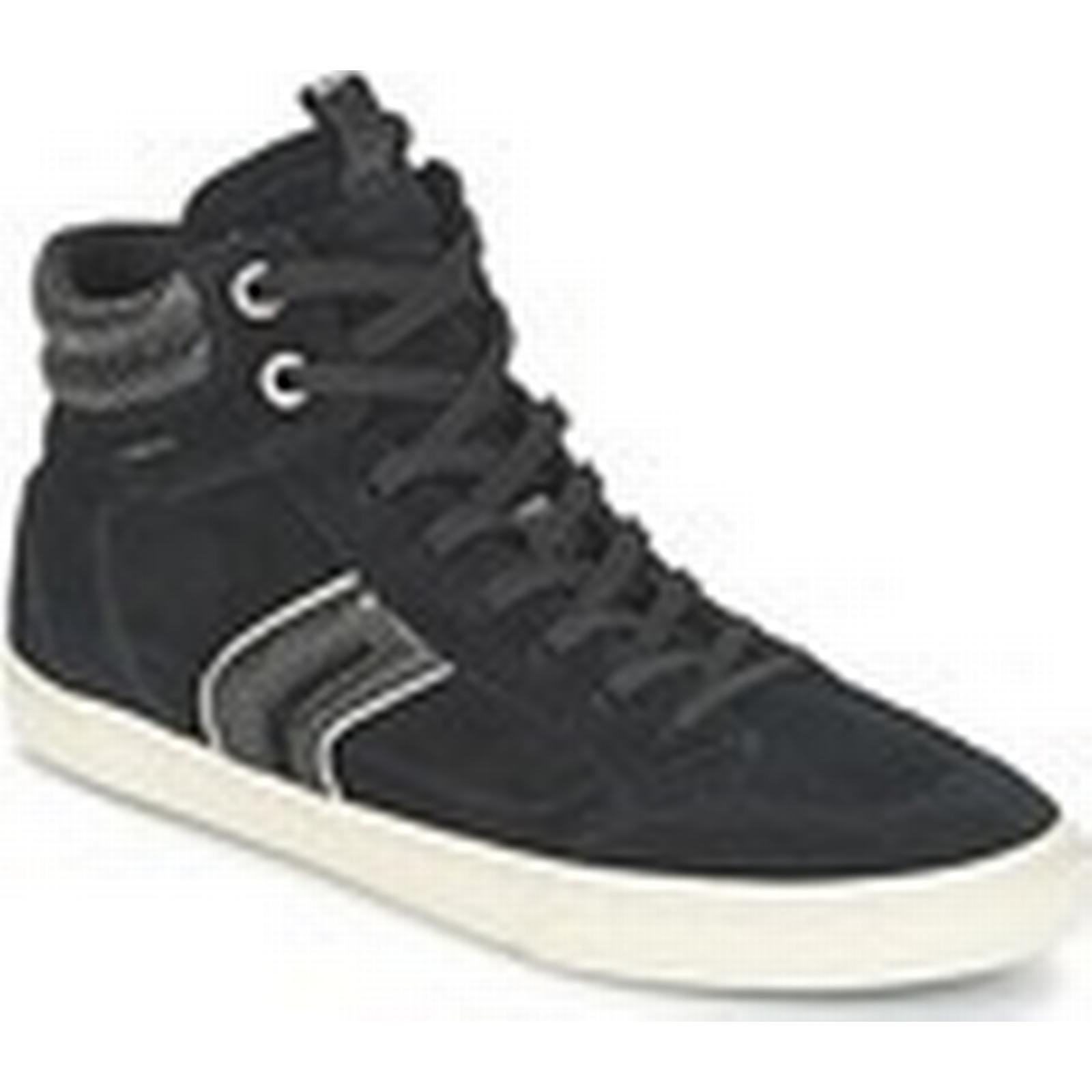 Geox  D NEW CLUB  women's Shoes (High-top Trainers) in in Trainers) Black 4cd337