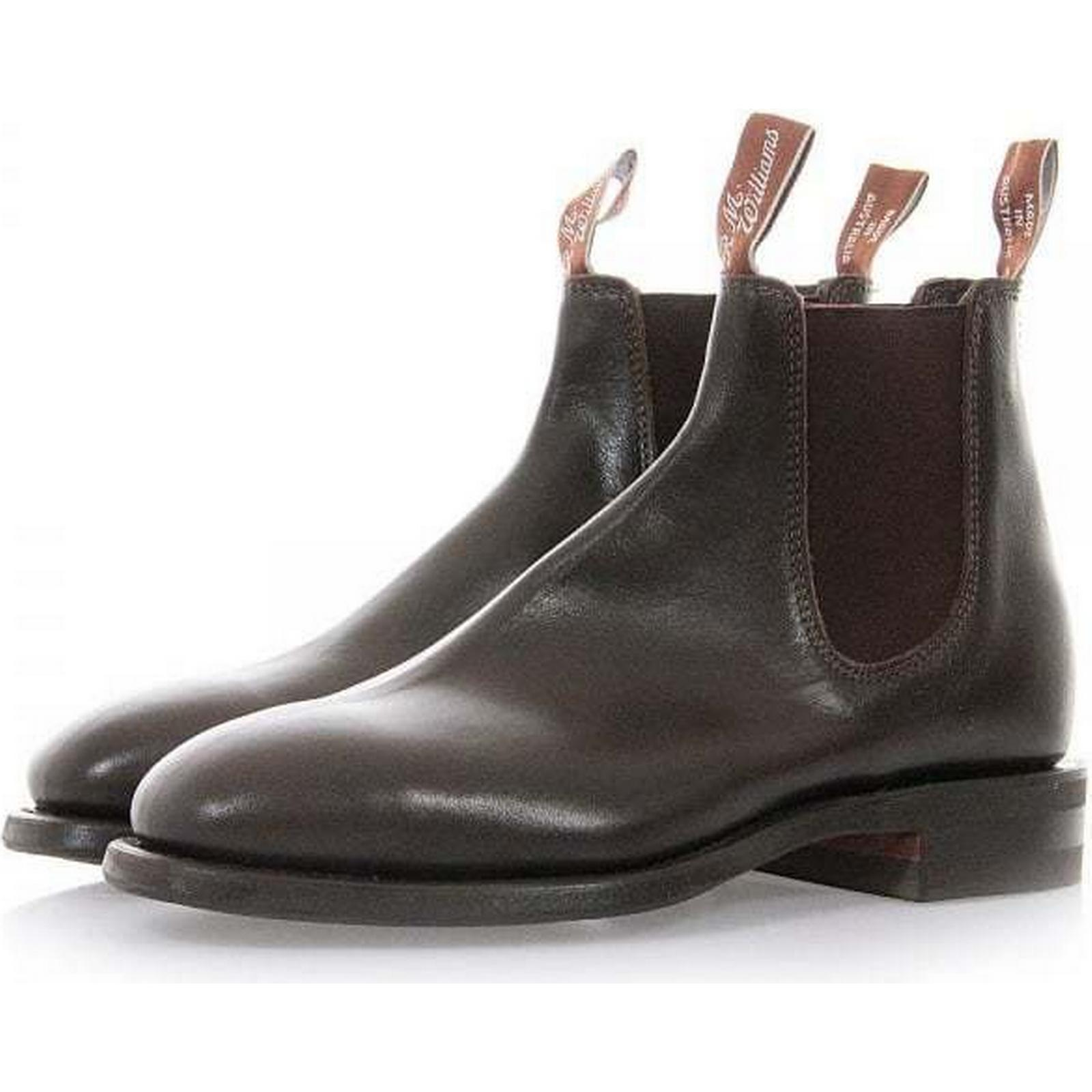 32707 R.M Leather Williams Comfort Craftsman Chestnut Leather R.M Chelsea Boots B543Y de8d53
