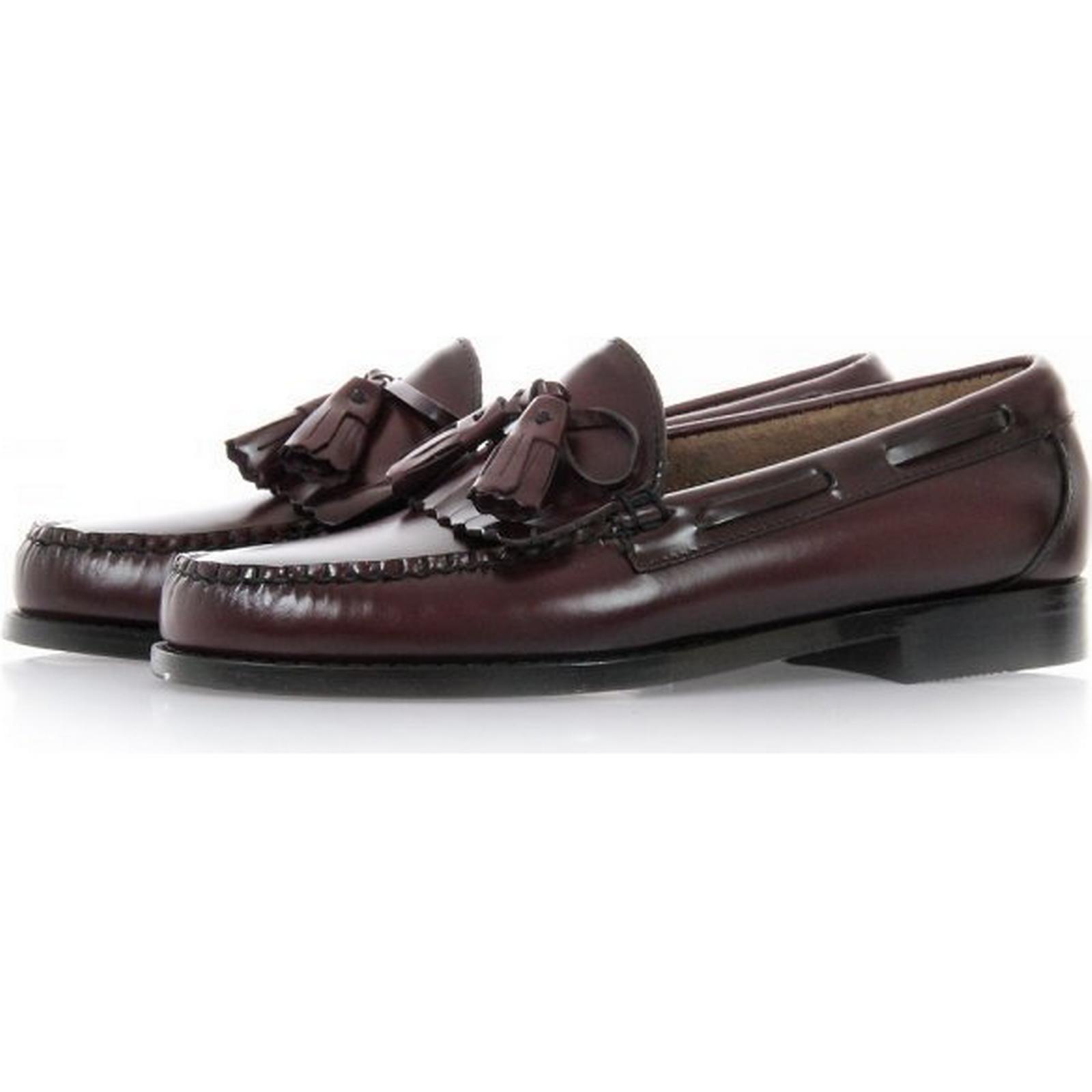 33535 Layton Moc Loafers Kiltie Tassle Loafers Moc - Wine 06626f