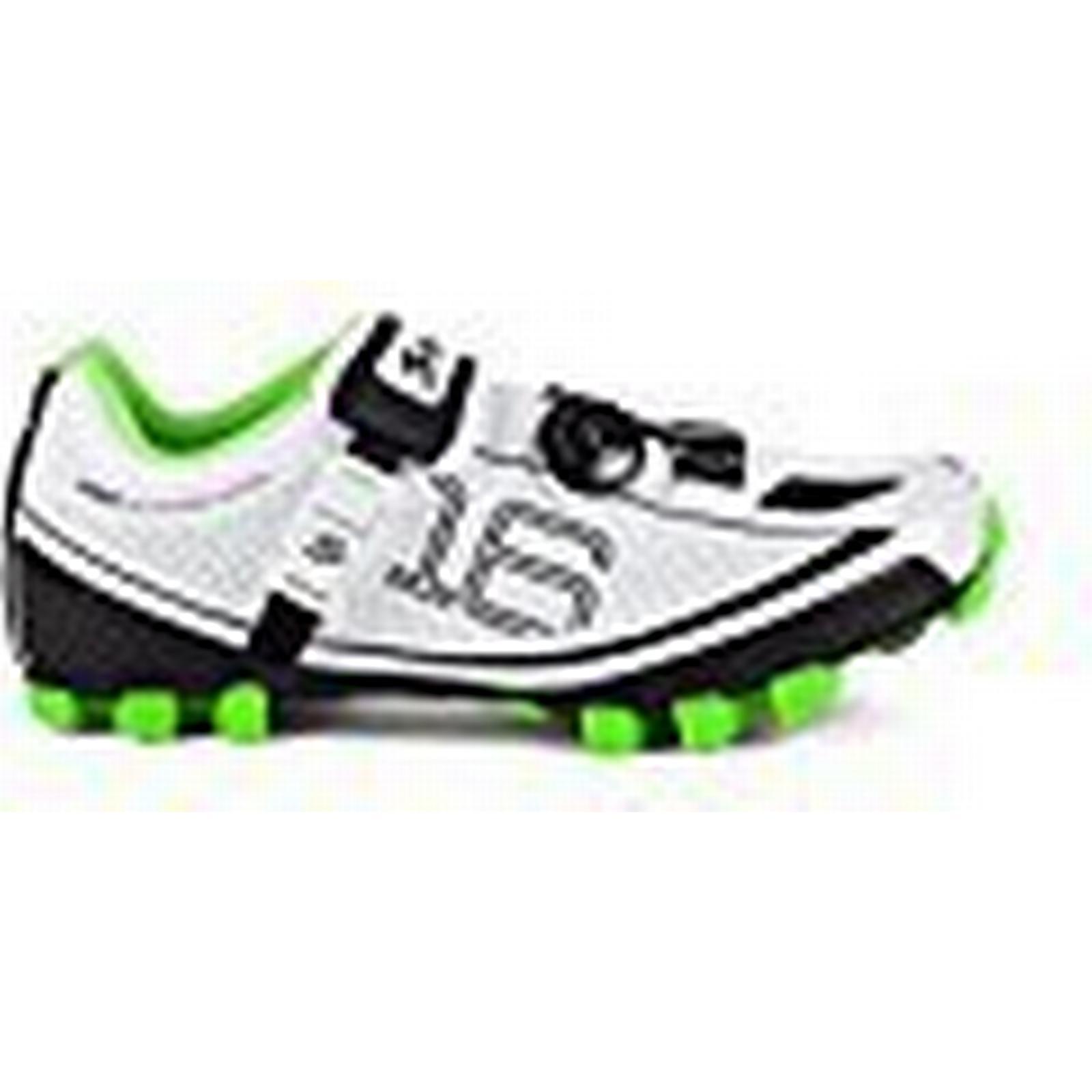Spiuk 16 colour MTB - Unisex cycling shoes, colour 16 white, size 40 ddd0e5