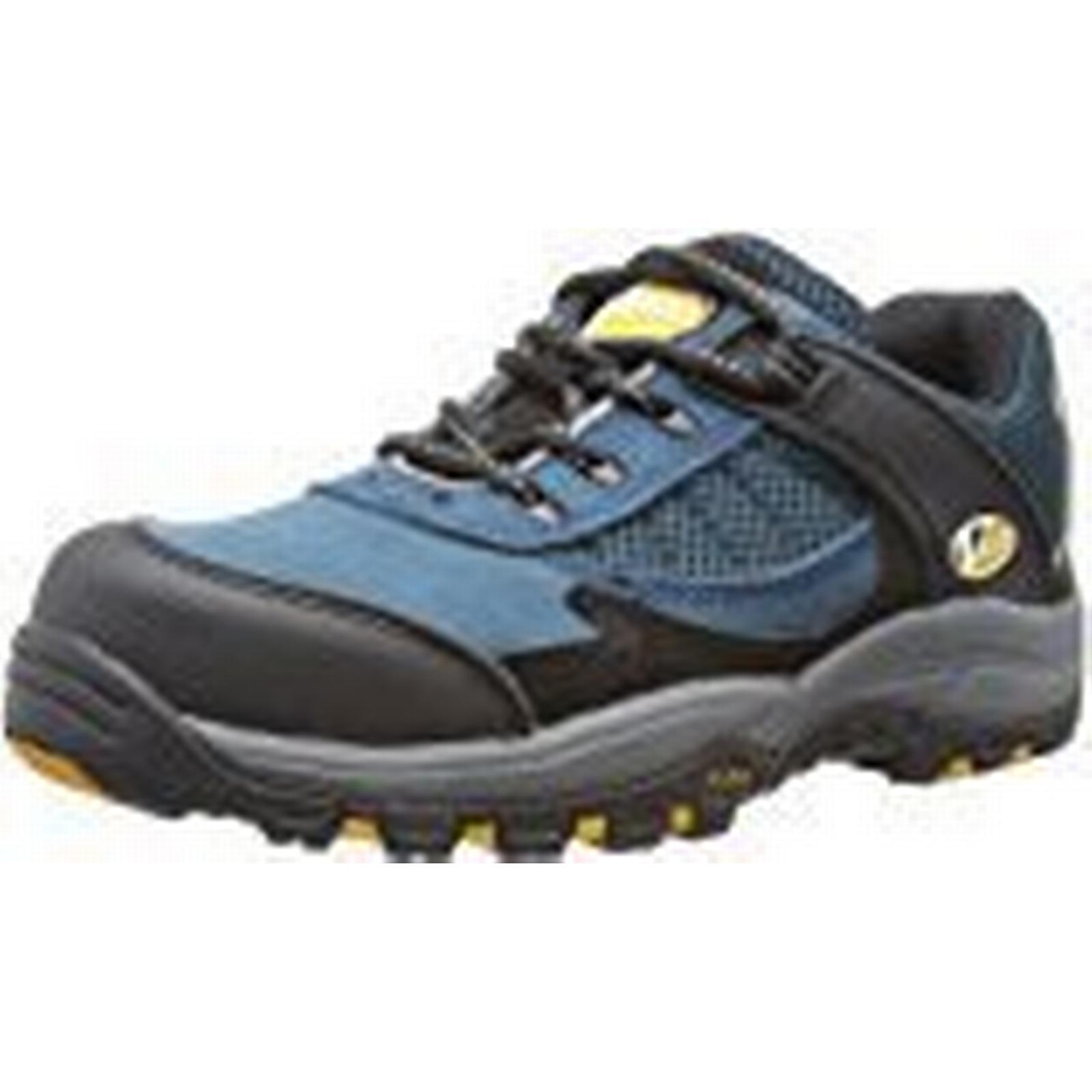 V12 Pitstop, S1 Comfort Fit Safety Blue Trainer, Size 06, Cobalt Blue Safety c3e074