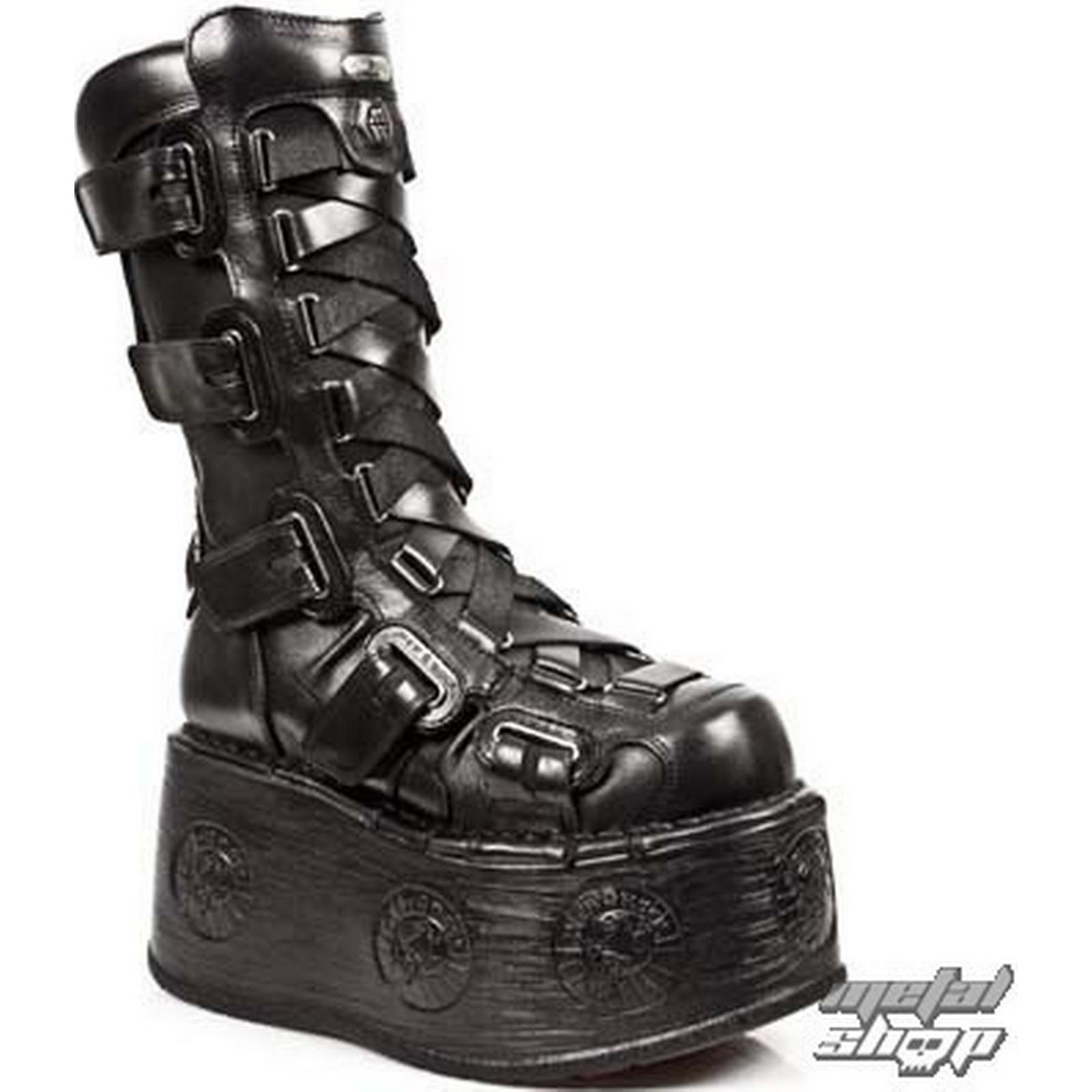 NEW ROCK leather ROCK boots women's - 189-S1 - NEW ROCK leather - M.189-S1 1b8f1b