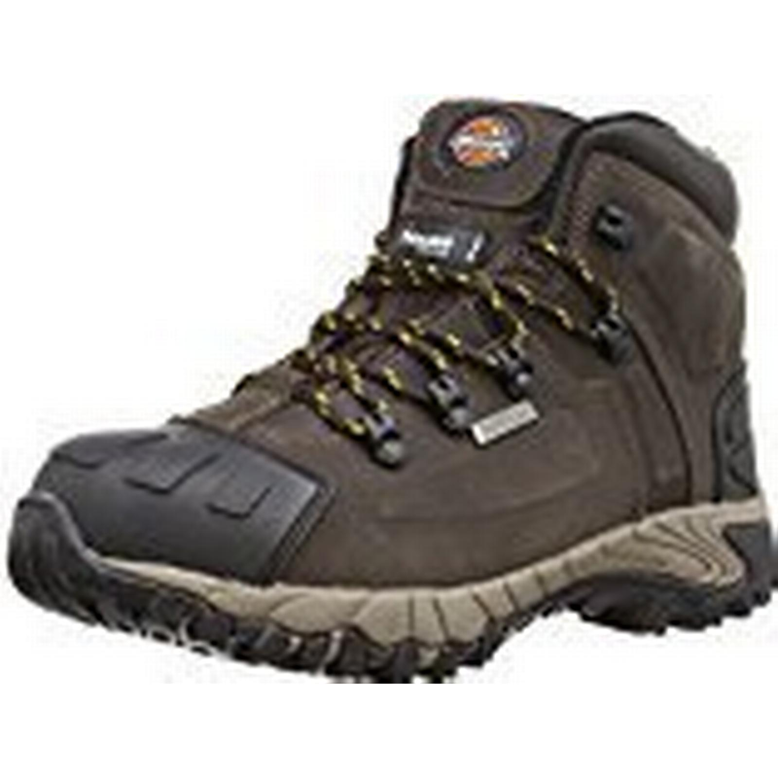 Dickies Unisex-Adult Medway S3 Safety Boots 42 FD23310 Brown 8 UK, 42 Boots EU - EN safety certified d5c4c0