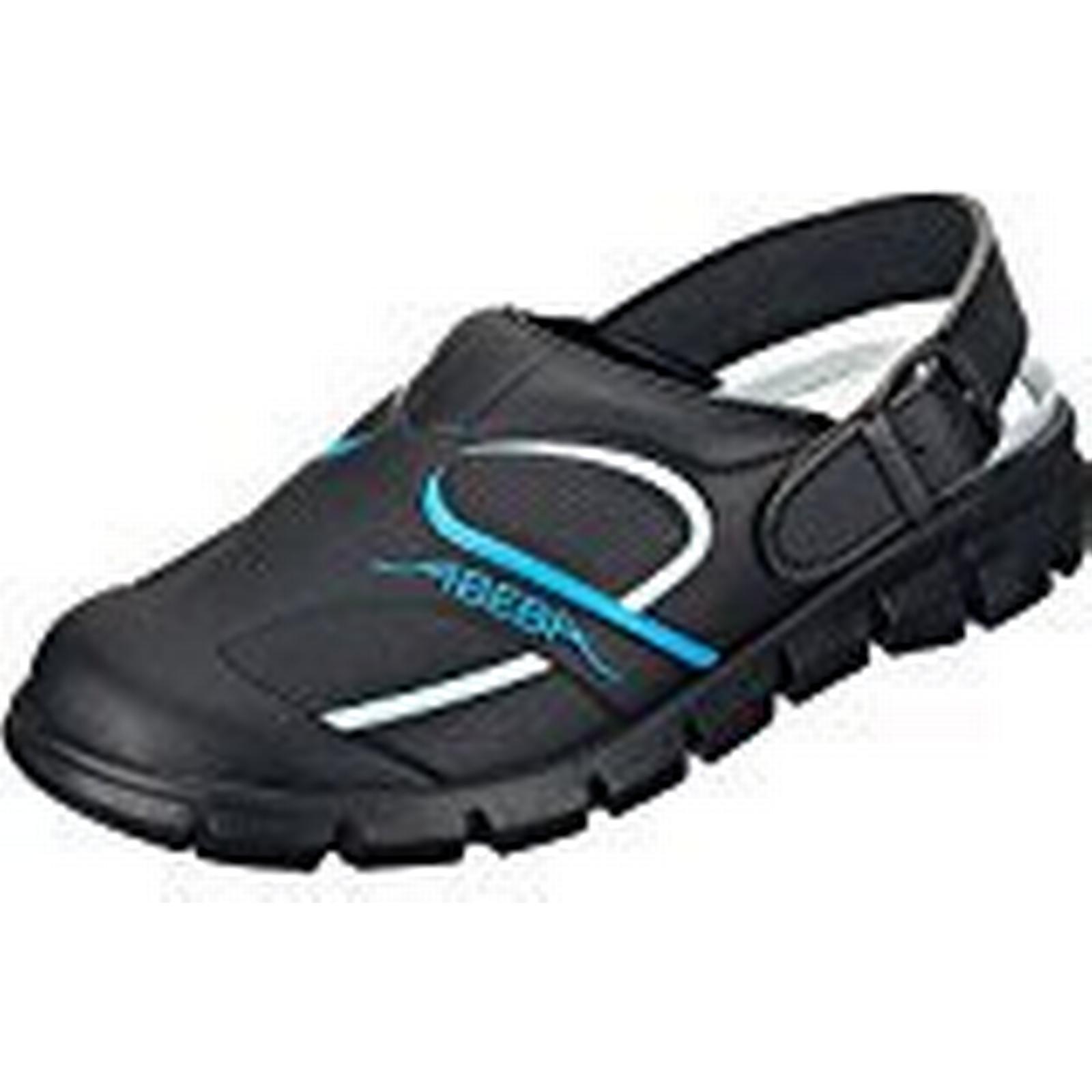 Abeba 7331-39 Shoe, Dynamic Occupational-Clog Shoe, 7331-39 Size 6, Black/Blue b6b61a