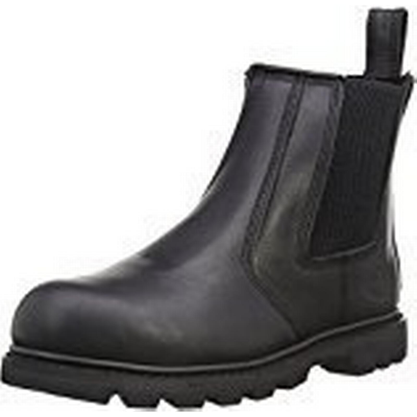 Dickies Mens Fife SB-P Safety Boots Regular FD9214 Black 6 UK Regular Boots - EN safety certified c7472b
