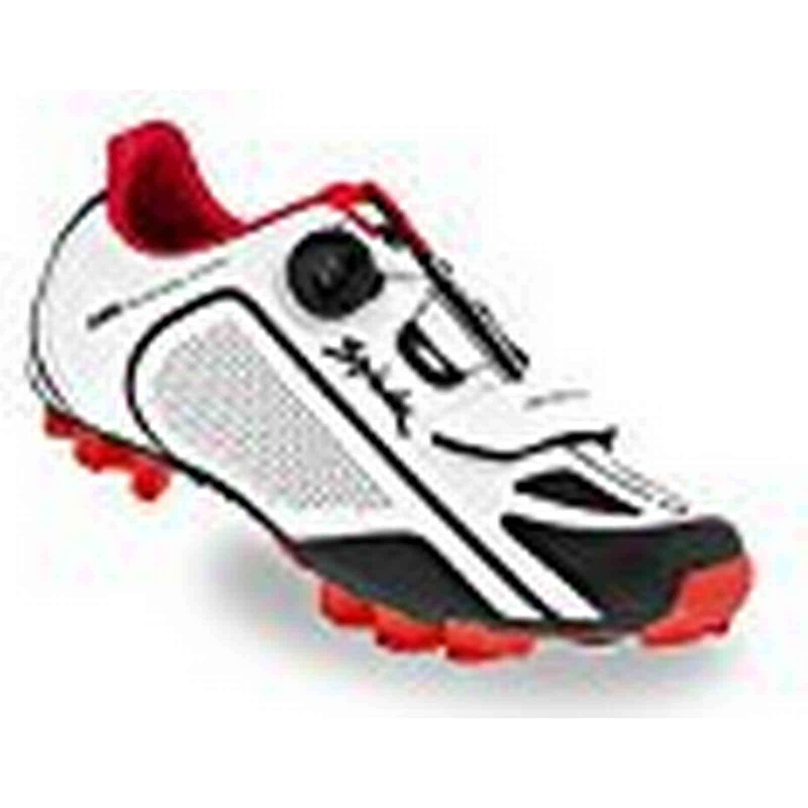 Spiuk altube Unisex MTB Shoe, Unisex Adult, Unisex altube adult, Altube Mtb, White/Black / Red, 11 0209d8