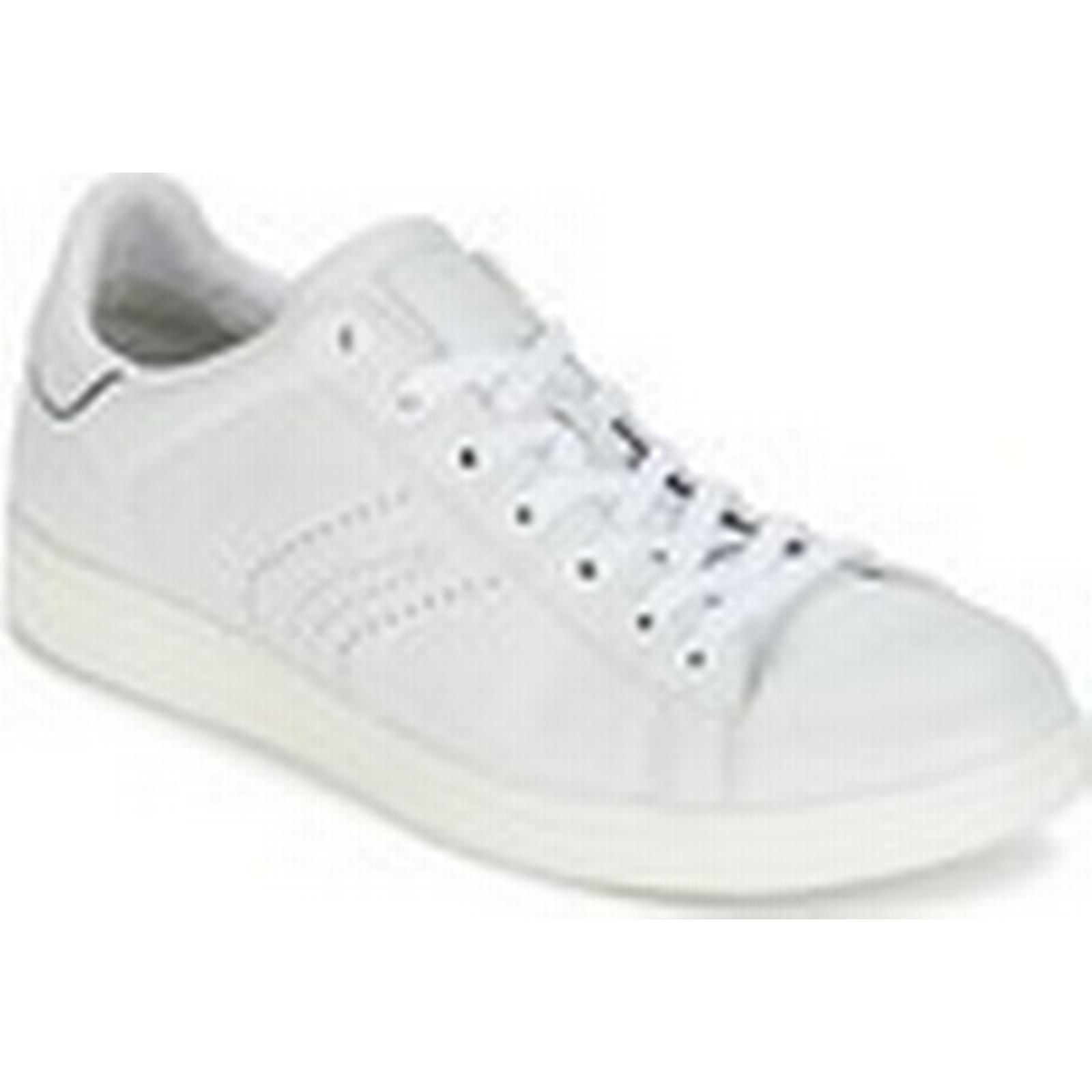 Geox  WARRENS B   B men's Shoes (Trainers) in White 7c757d