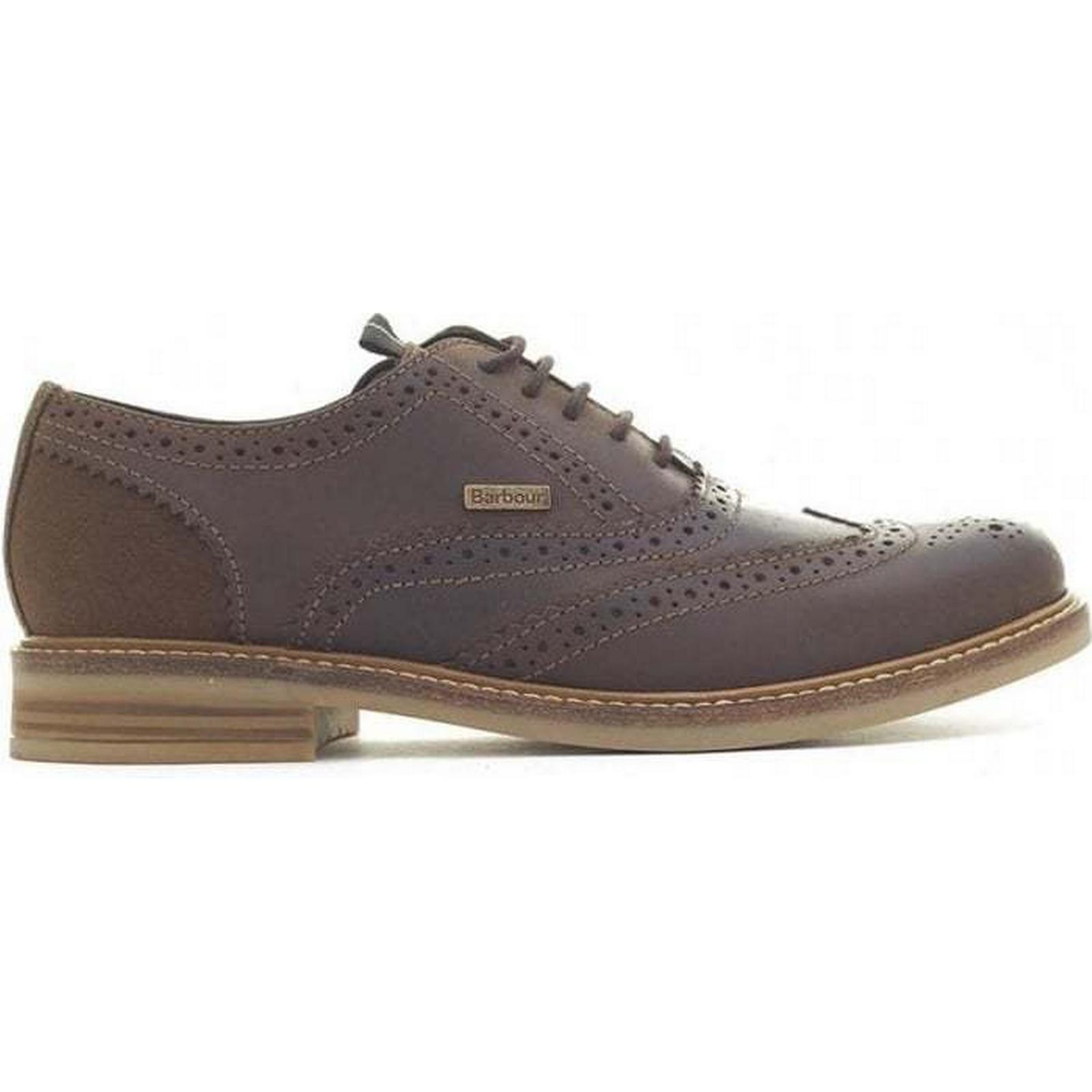 Barbour Redcar Oxford Brogues Size: Colour: BROWN, Size: Brogues 11 3e6da6