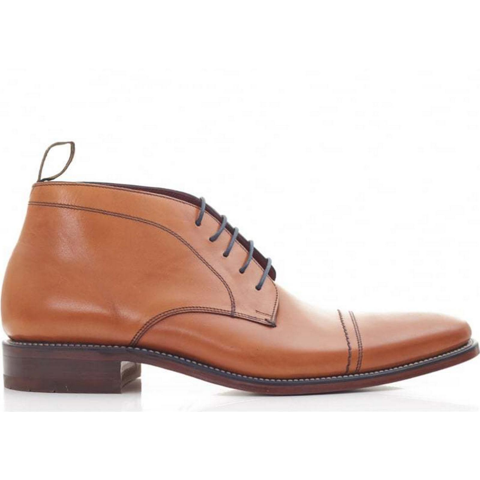 Loake Toe Colour: Cap Leather Ankle Boots Colour: Toe TAN, Size: 11 4867b8