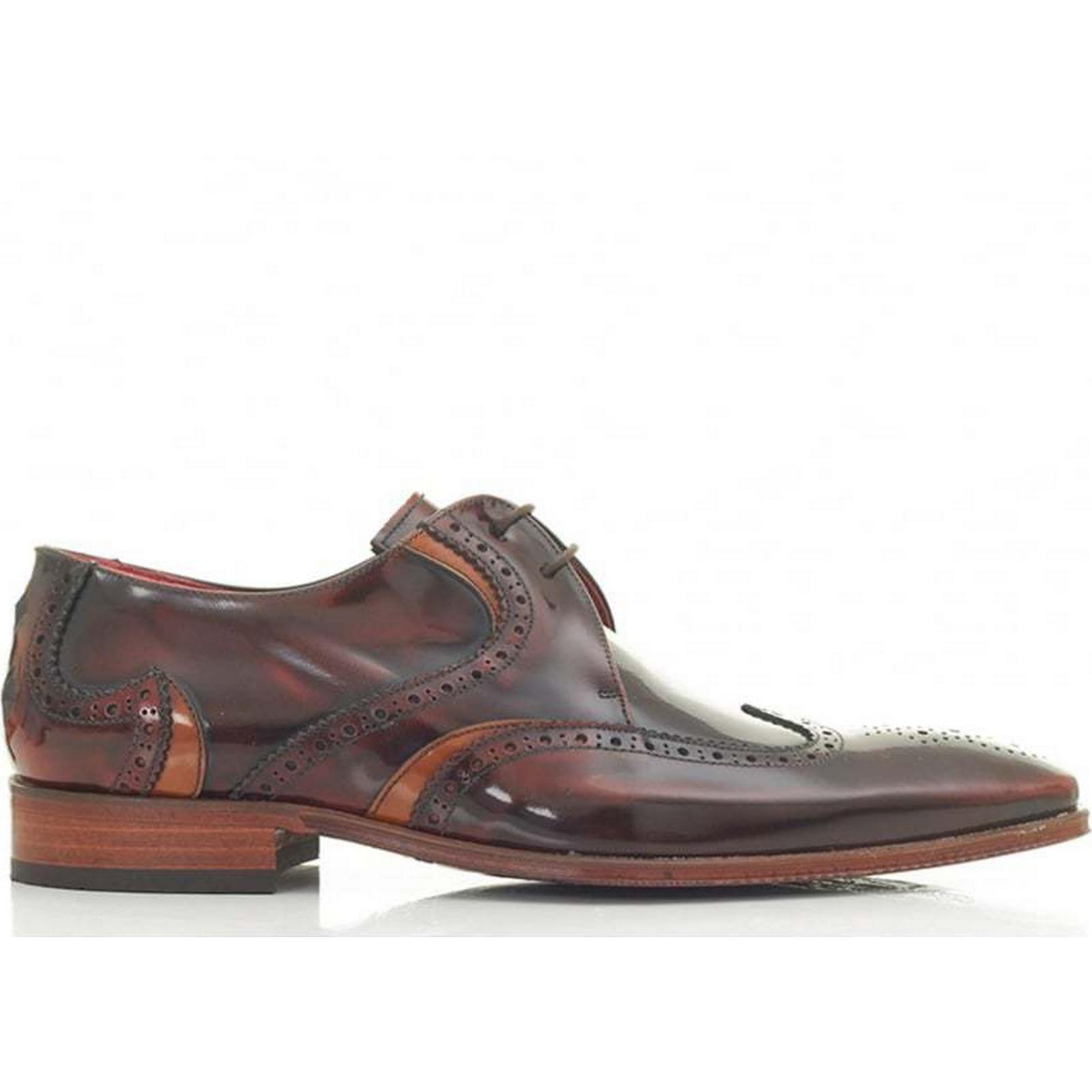Jeffery West Museline Wingtip Size: Leather Shoes Colour: MID BROWN, Size: Wingtip 8 2898e3