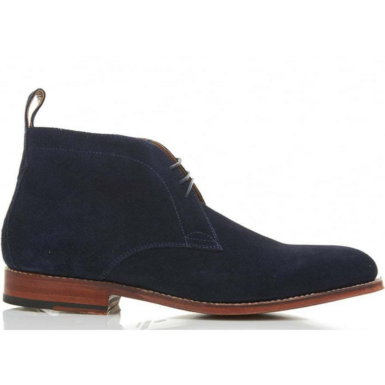 Grenson Marcus Suede Chukka Size: Boot Colour: NAVY, Size: Chukka 11 3bacce