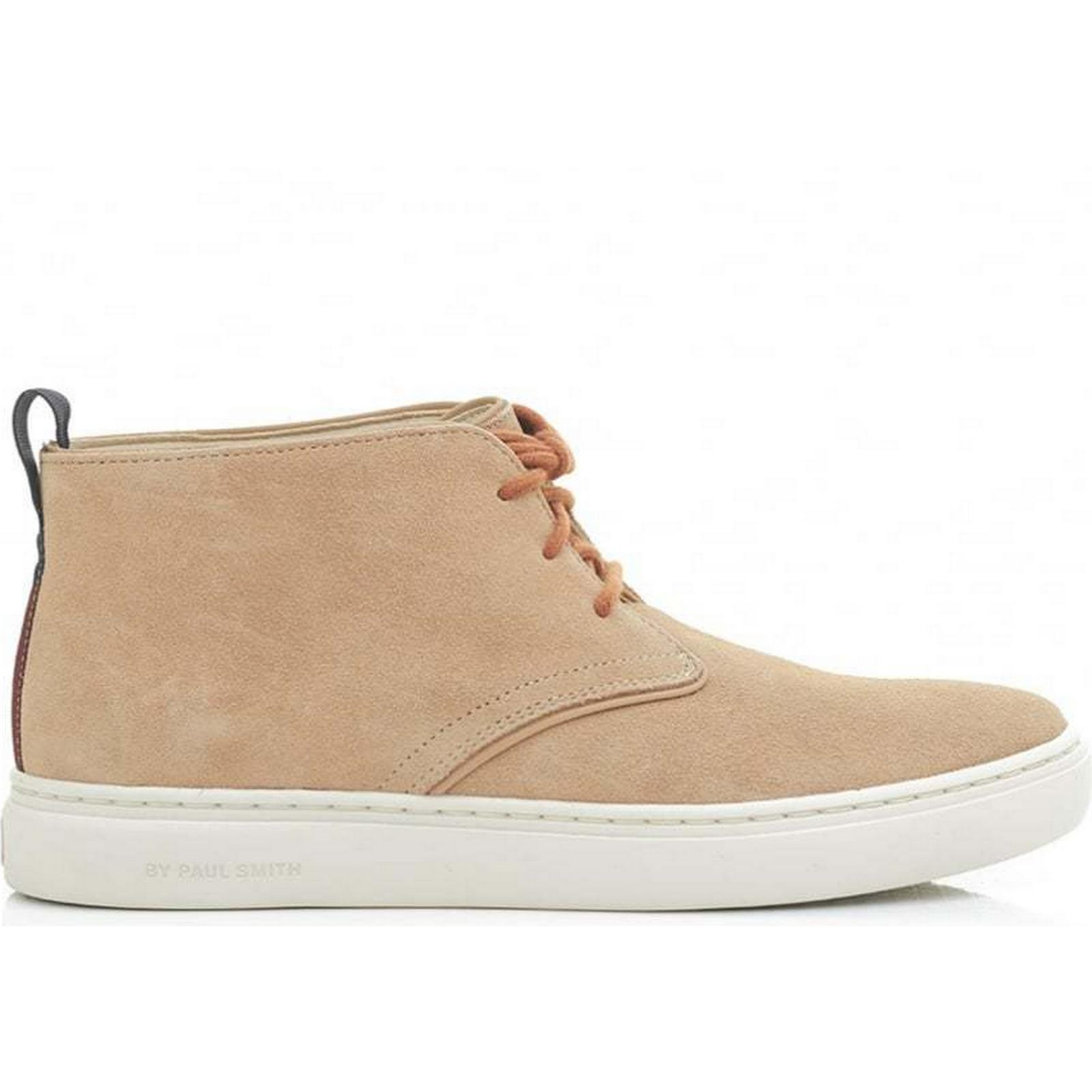 Paul Smith Fong Suede SAND, Cupsole Chukka Boots Colour: SAND, Suede Size: 7 6ce8a1