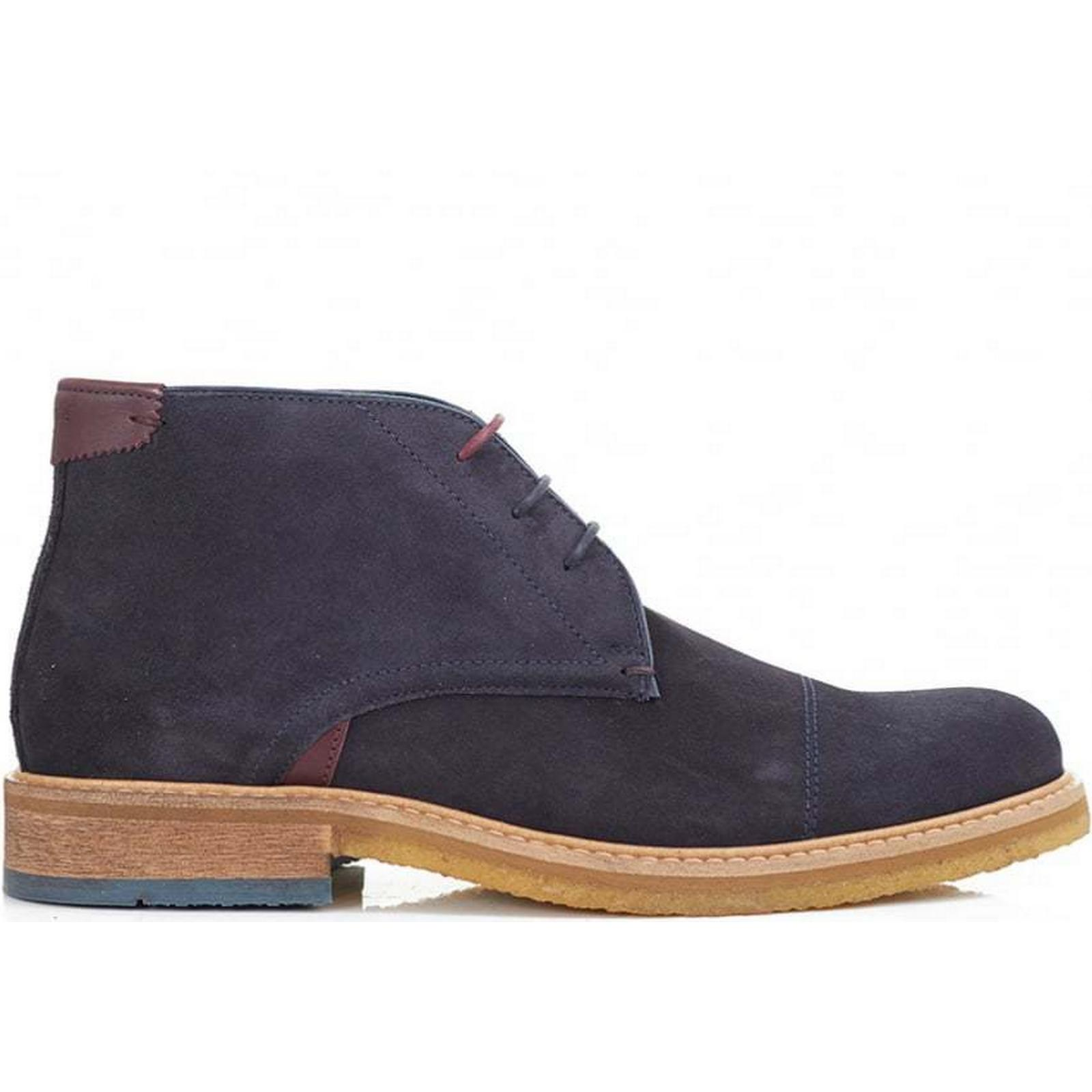 Ted Baker Boots Tomlin Crepe Sole Chukka Boots Baker Colour: DARK BLUE, Size: 8 b8f6c0