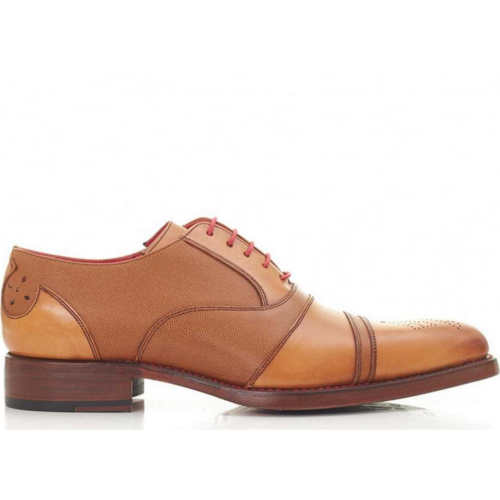 Jeffery West Mainline Oxford Size: Toecap Leather Shoes Colour: TAN, Size: Oxford 9 9491cb