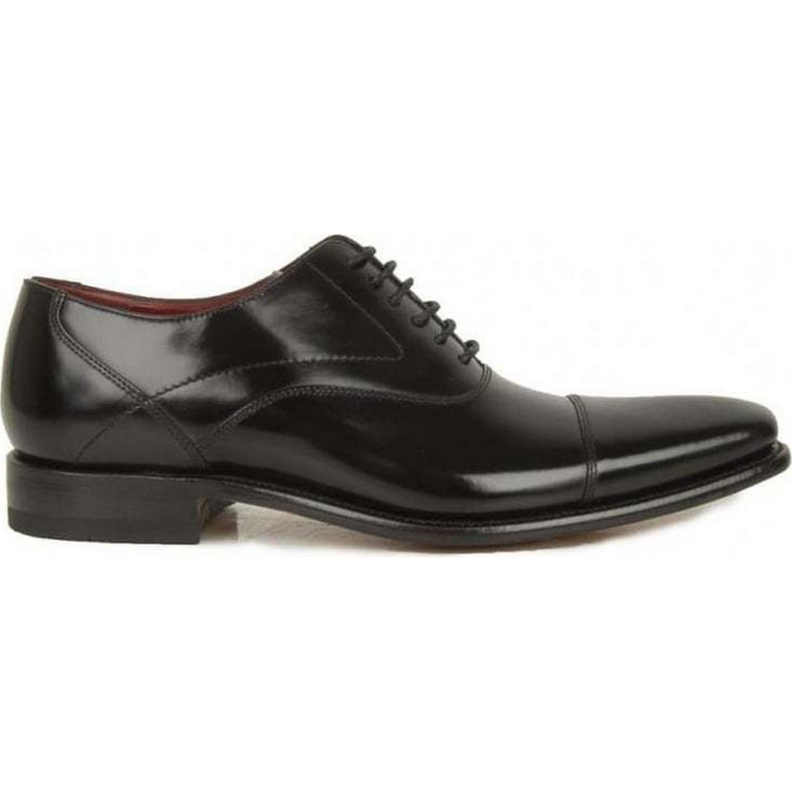 Loake Polished Oxford BLACK, Shoes Colour: BLACK, Oxford Size: 7 a3f7e8