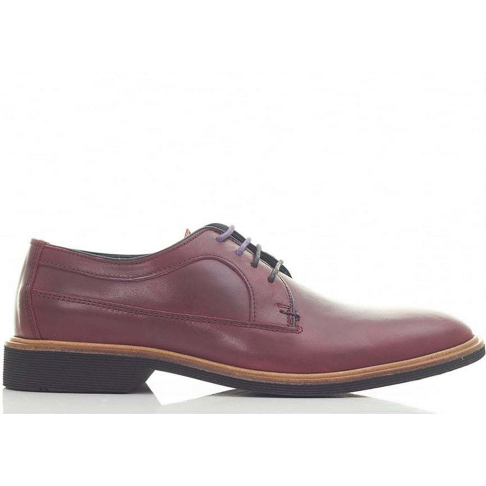 Ted Baker Shoes Albaco Leather Rubber Sole Shoes Baker Colour: RED, Size: 7 b0cfd0