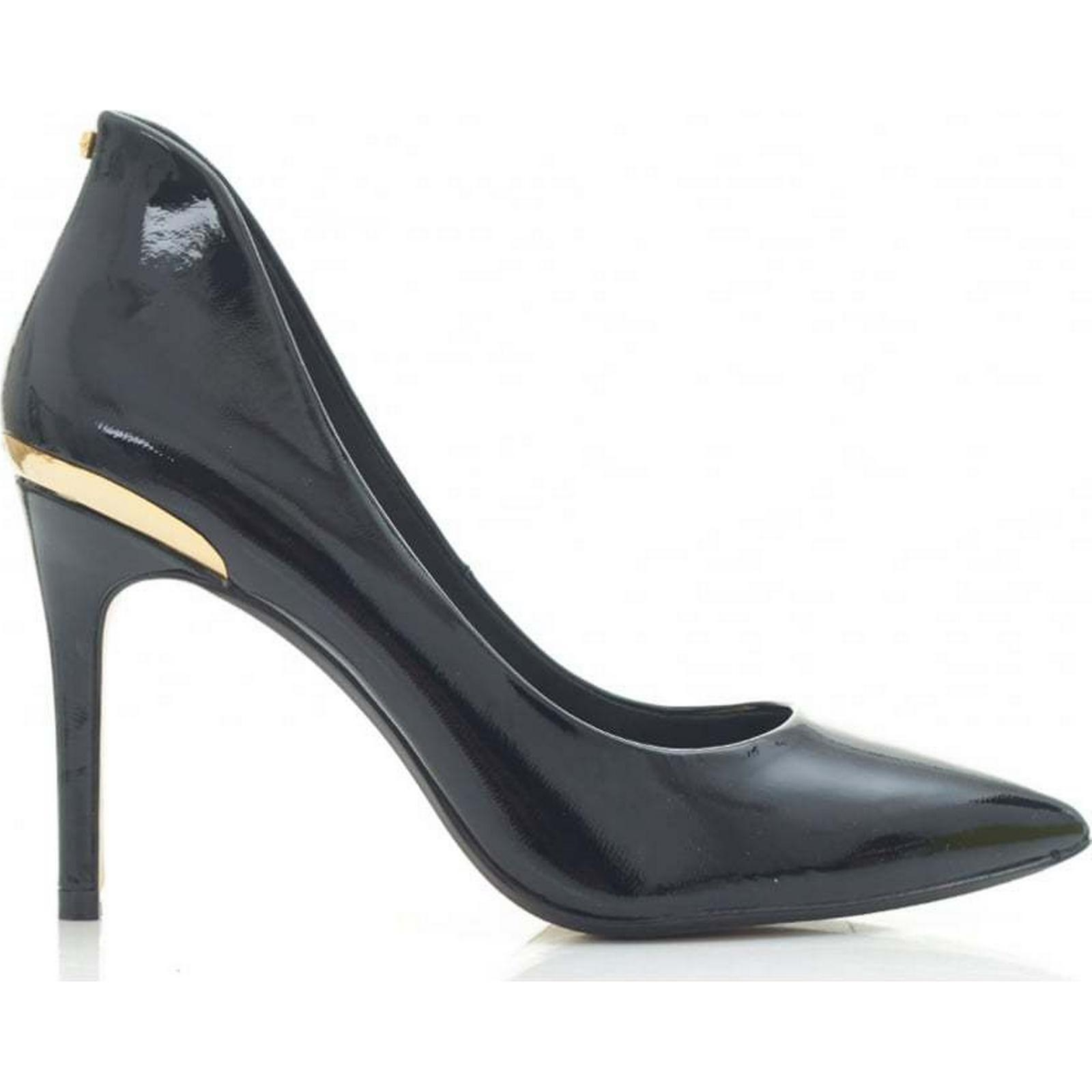 Ted Baker Colour: High Back Patent Pointed Shoes Colour: Baker BLACK, Size: 6 c320a0