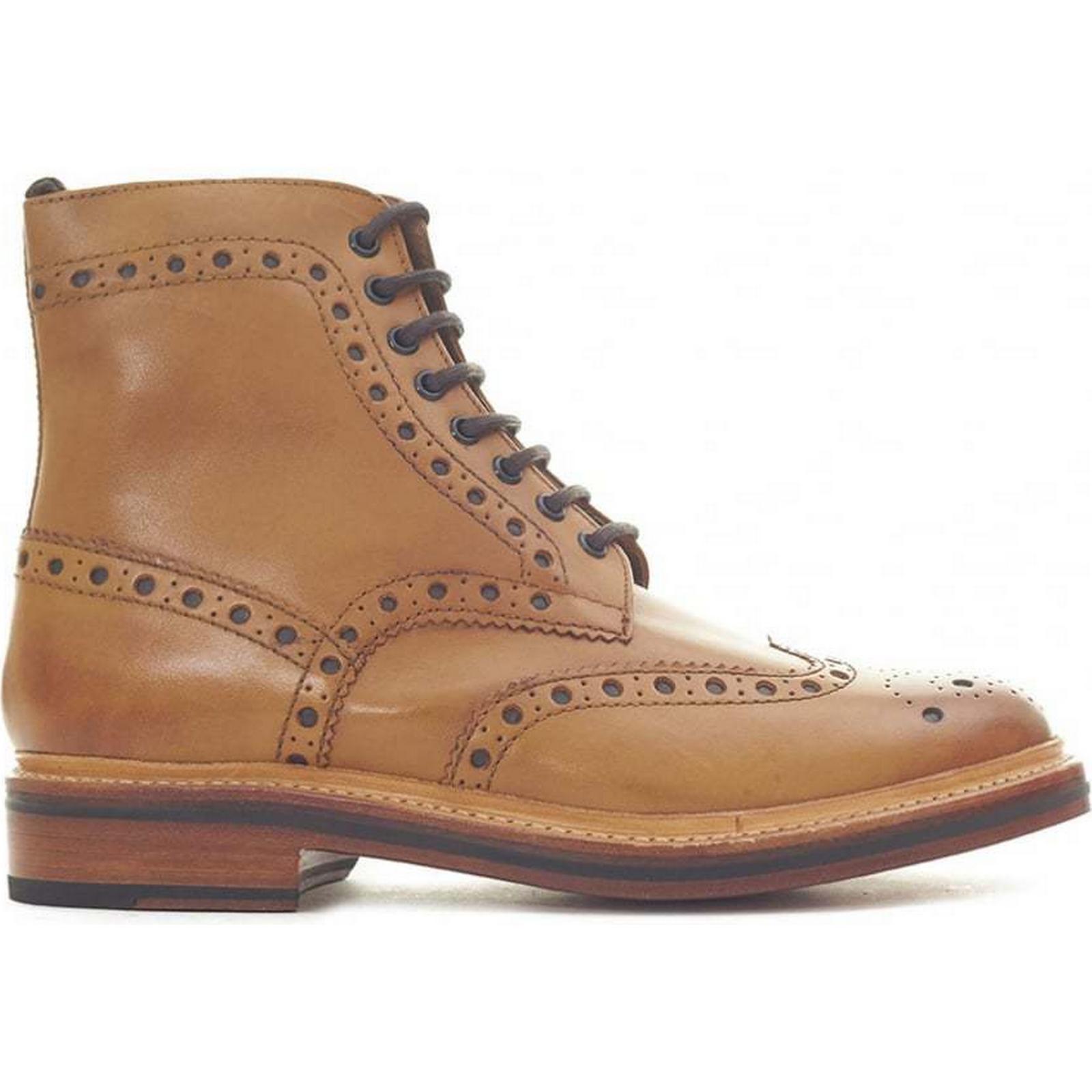Grenson TAN, Fred Brogue Boots Colour: TAN, Grenson Size: 11 241db1