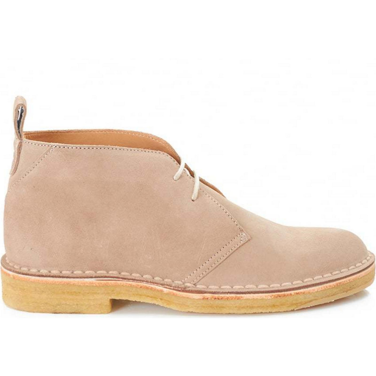 Paul Smith Wilf Suede Crepe Sole 7 Boots Colour: SAND, Size: 7 Sole 6ccd36