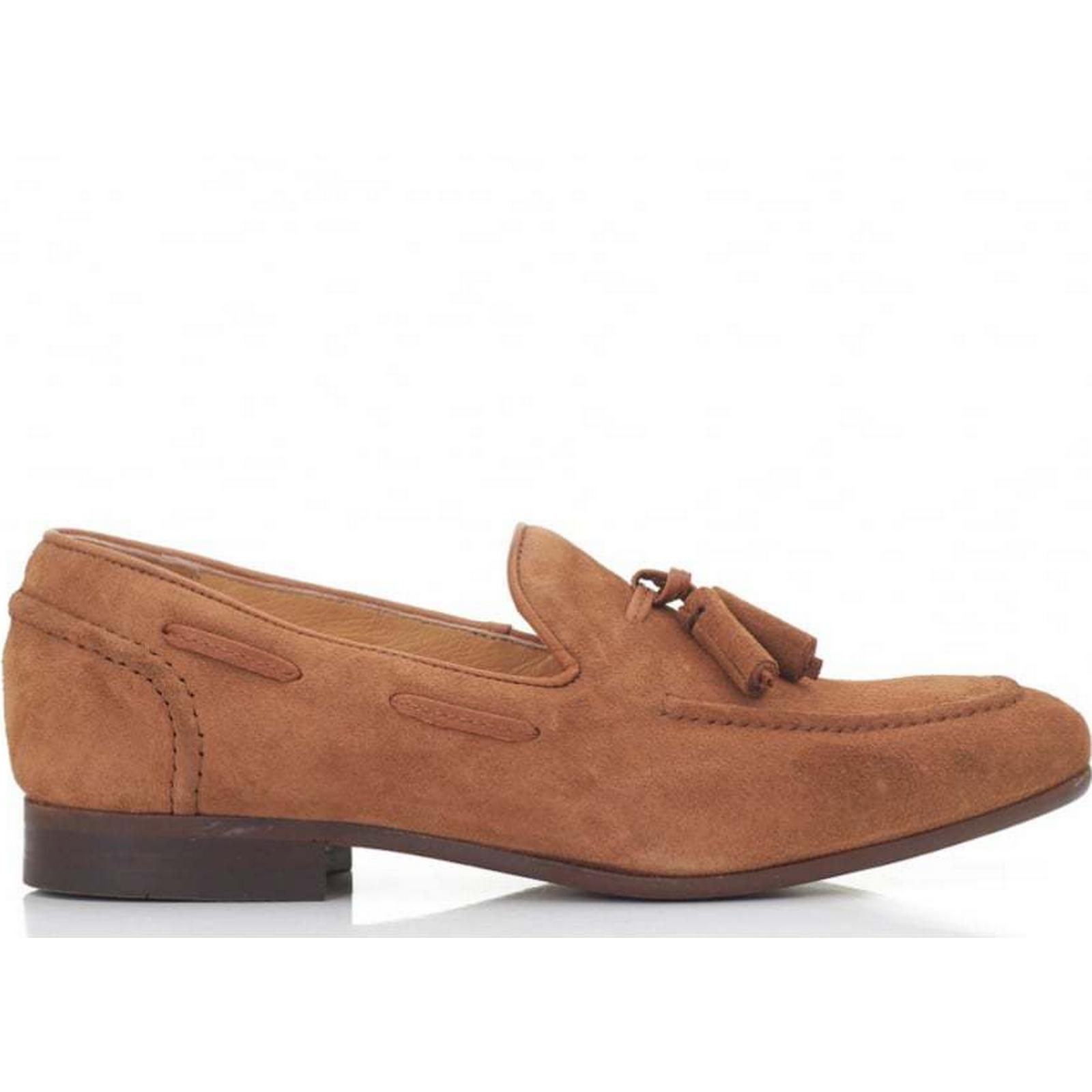H By Hudson TAN, Pierre Suede Loafers Colour: TAN, Hudson Size: 6 053527