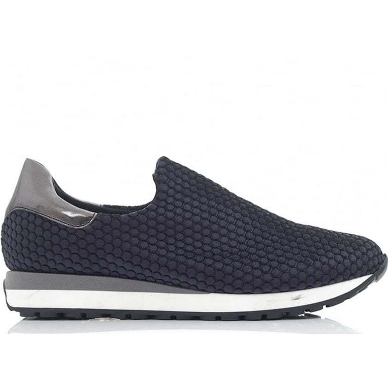 Moda In Pelle Bobble Velvet Slip Size: On Trainer Colour: NAVY, Size: Slip 3 ea8e8f