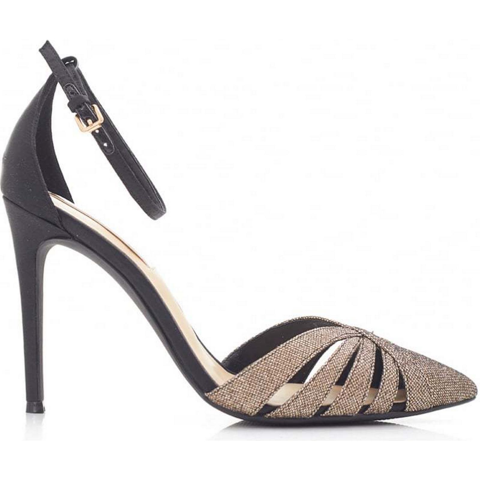 Forever Unique 7 Sandals Colour: BLACK, Size: 7 Unique 7f1c45