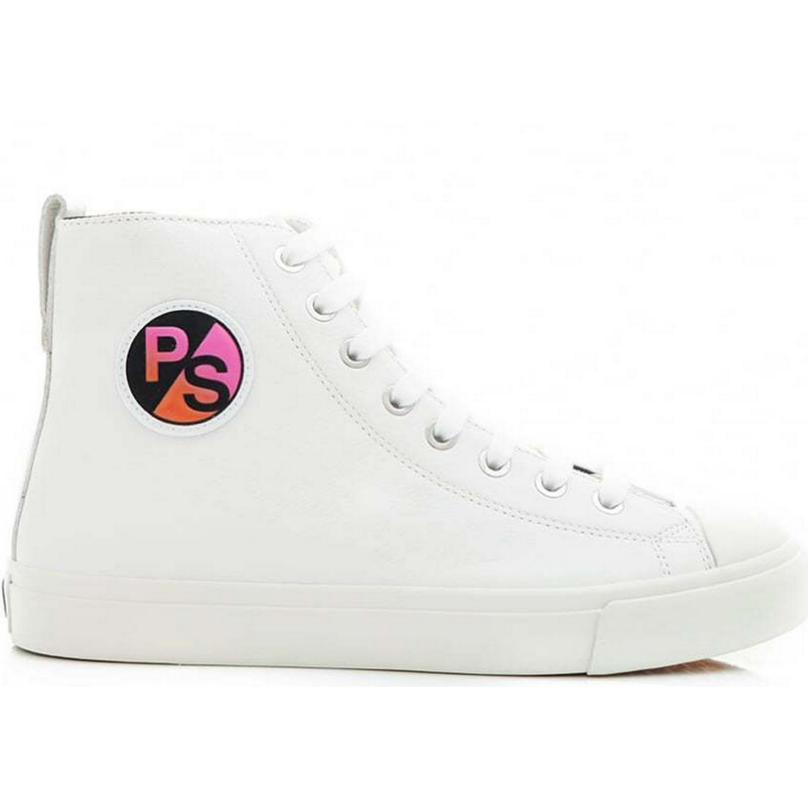 Paul Sneakers Smith Allegra High Top Sneakers Paul Colour: WHITE, Size: 6 4589d3