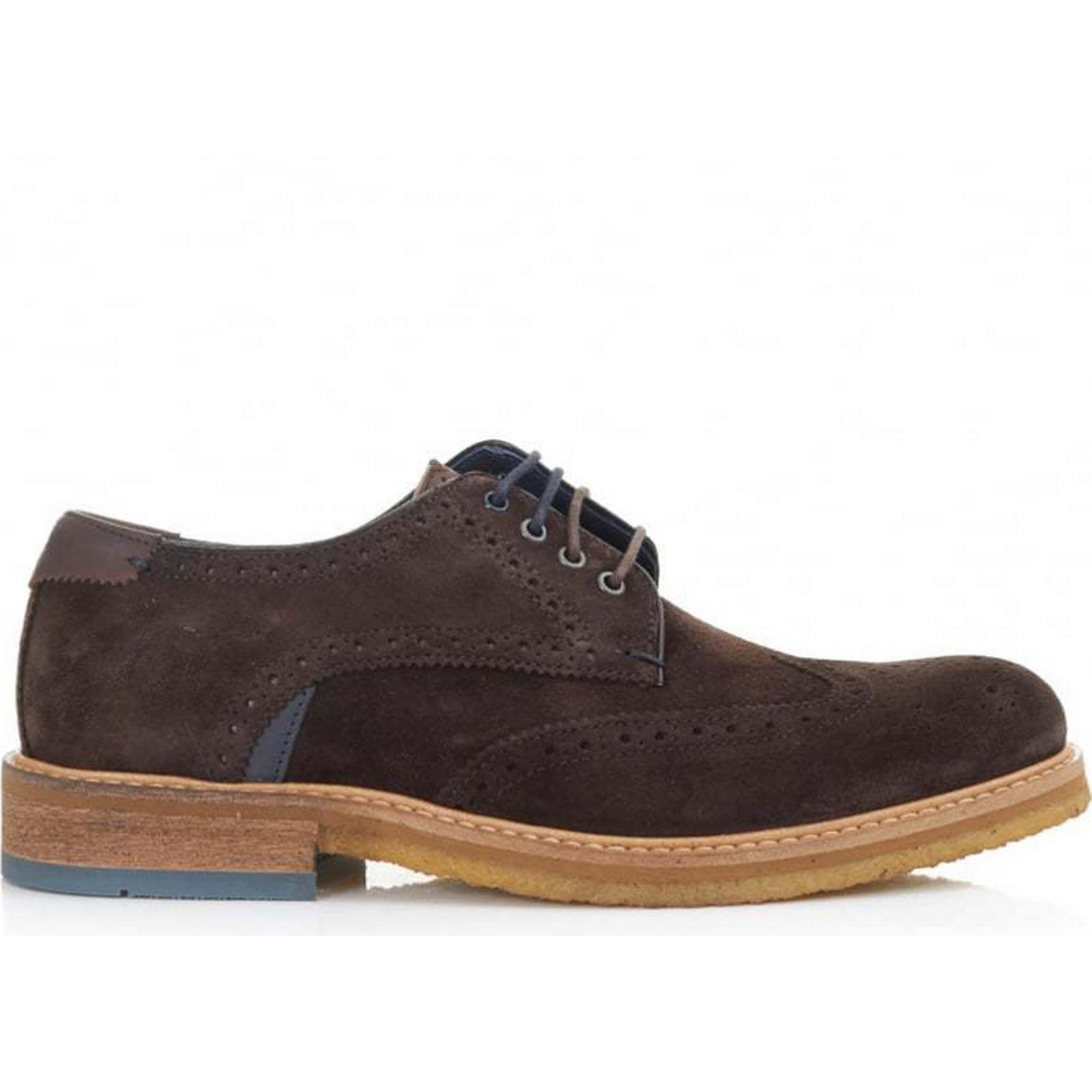 Ted Brogues Baker Prycce Crepe Sole Brogues Ted Colour: BROWN, Size: 6 e58e33