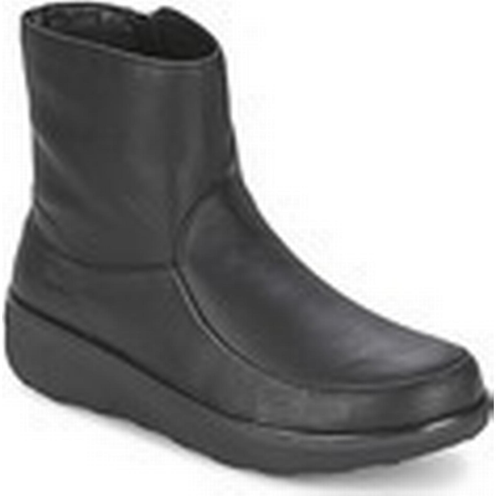 FitFlop  LOAFF SHORTY ZIP BOOT  women's Low Ankle Boots Boots Ankle in Black c07fb5