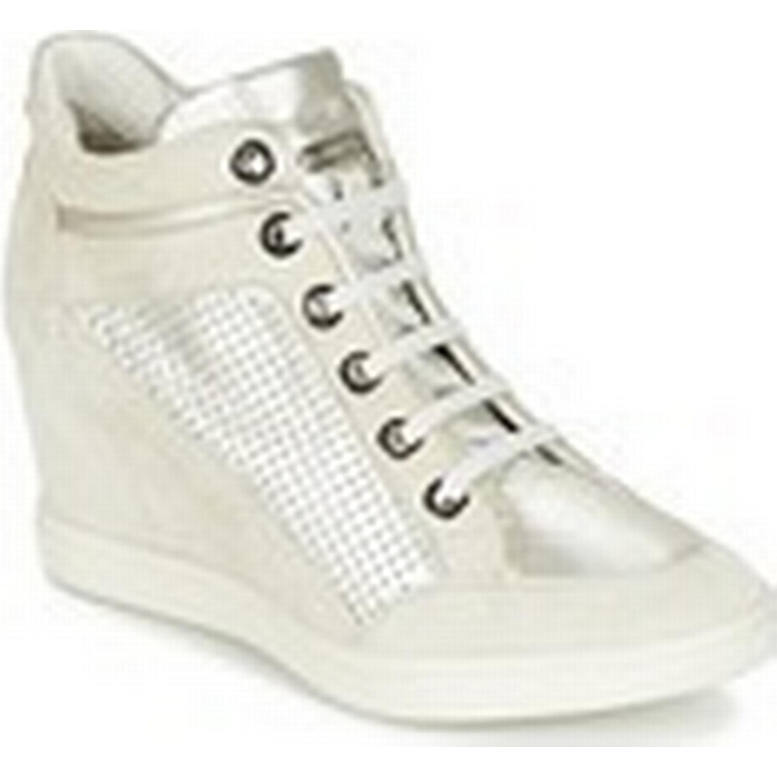 Geox  ELENI C  women's women's  Shoes (High-top Trainers) in White ac9850