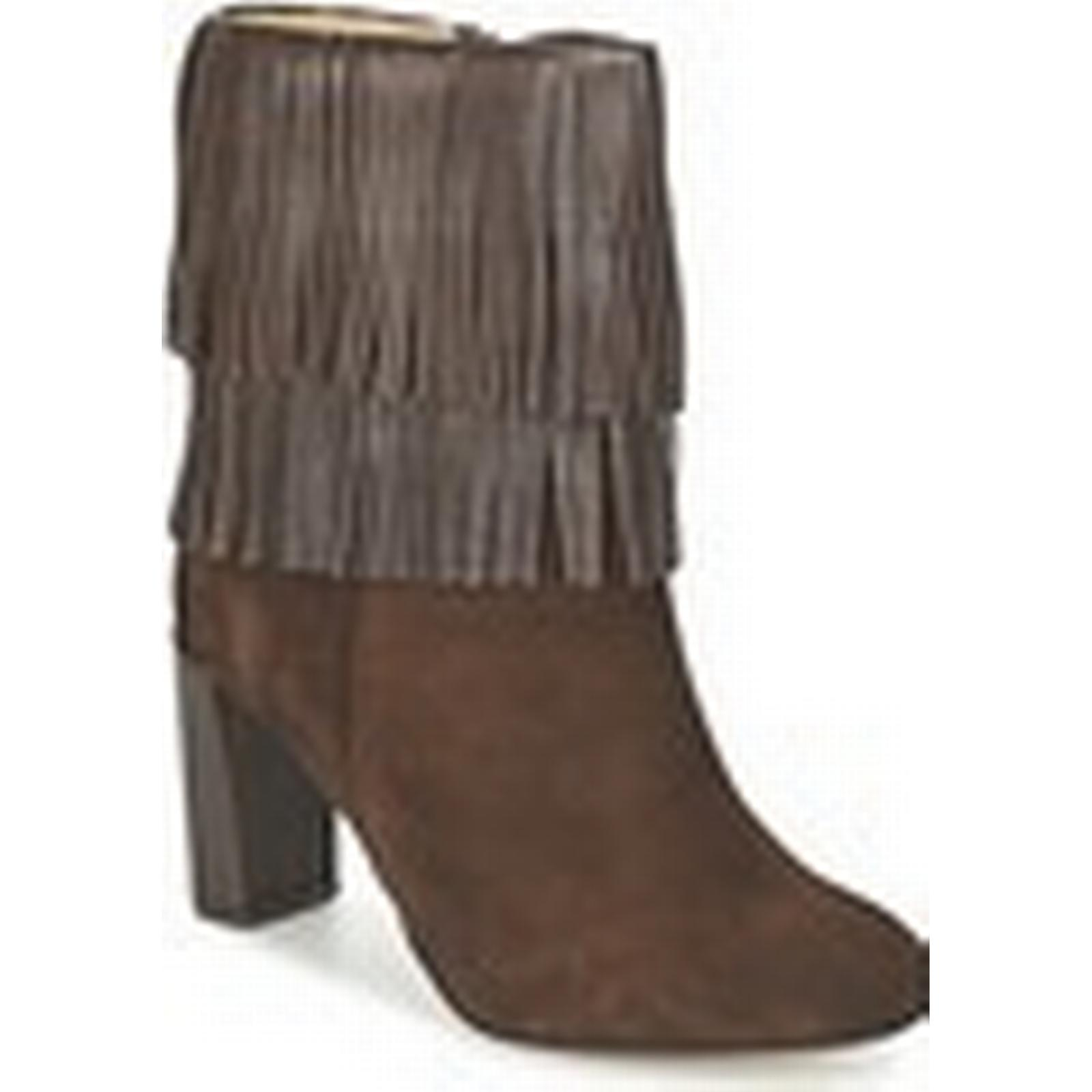 Betty London  FAJIME  women's Low Ankle Boots in Brown Brown in c66518