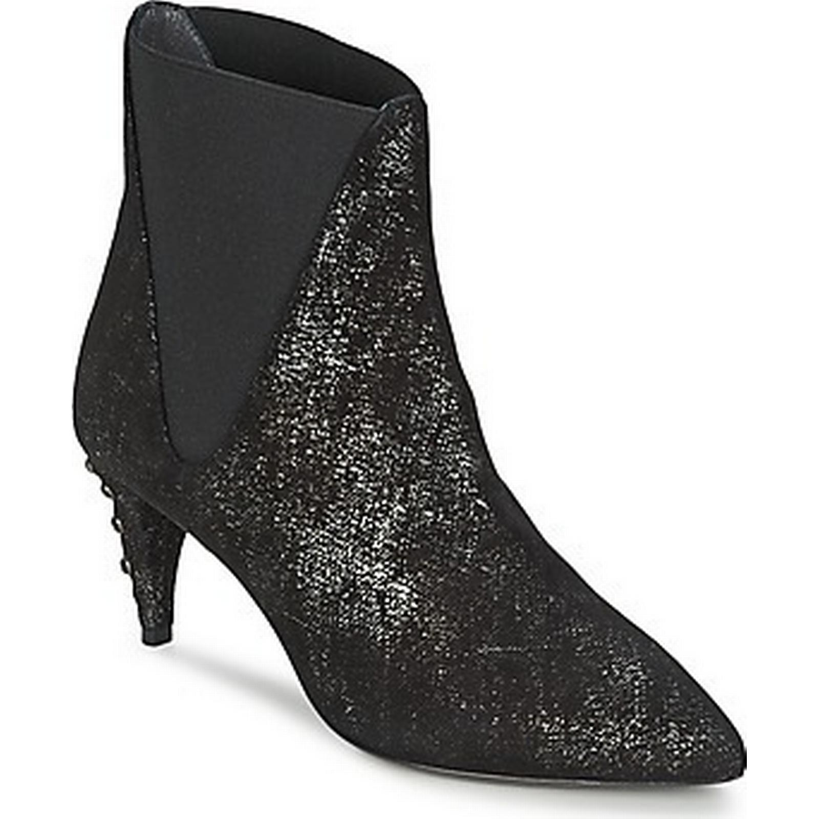 spartoo.co.uk st é phane kelian 7 elsa 7 kelian femmes et #  27; s faible bottines en noir c73d22